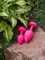 G-Plug Rechargeable Buttplug Large: Vibro-Analplug, pink