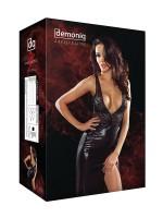 Demoniq Magnetic Abendkleid: Jacqueline, schwarz/gold