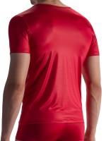 Olaf Benz RED1804: V-Neck-Shirt, rot