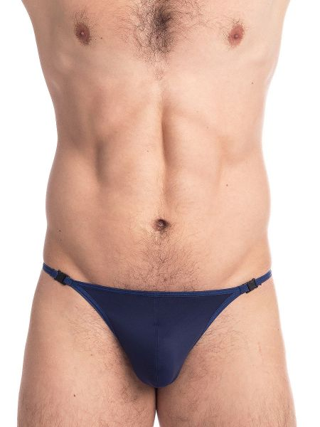 L'Homme Wonder: Bade-Stripstring, marine