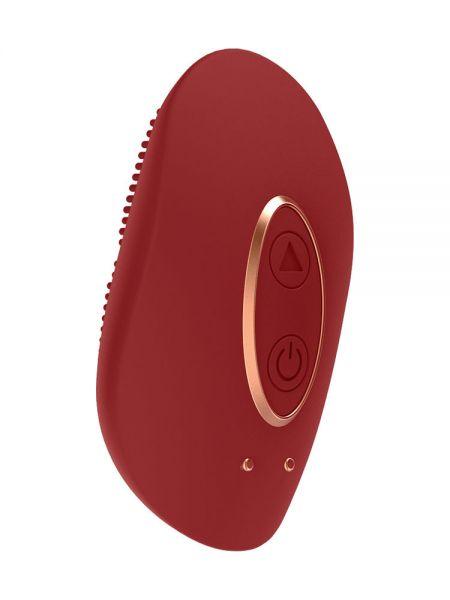 Elegance Precious: Mini-Aufliege-Vibrator, rot