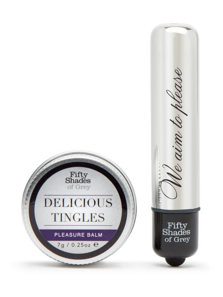 Fifty Shades of Grey Pleasure Overload Delicious Tingles Kit: Vorspiel-Set, 2teilig