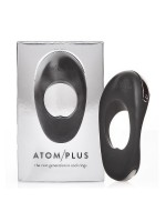 Hot Octopuss Atom Plus: Vibro-Penisring, schwarz