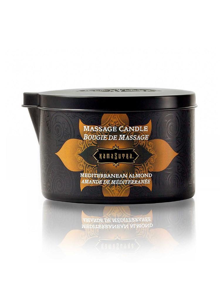 Kama Sutra Mediterranean Almond: Massagekerze (170g)
