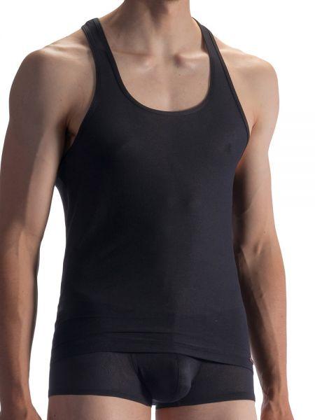 Olaf Benz RED1864: Athleticshirt, schwarz