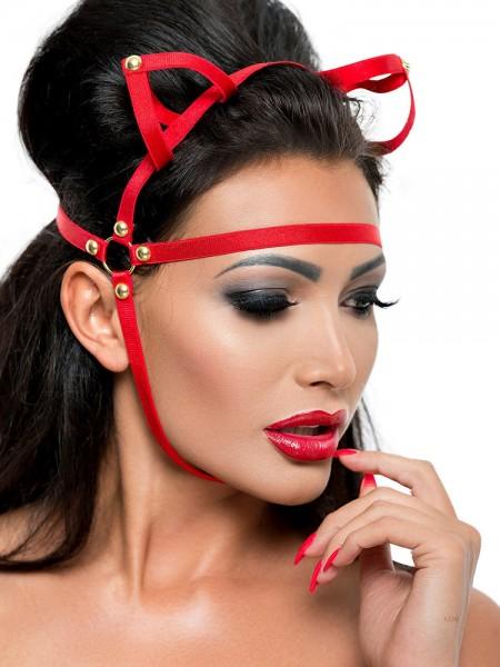 MeSeduce Kopfmaske MK05, rot