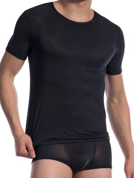 Olaf Benz RED1201: T-Shirt, schwarz