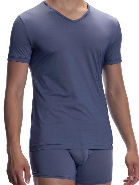 Olaf Benz RED2067: V-Neck-Shirt, night