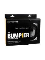 Perfect Fit The Bumper: Penis-/Hodenring, schwarz