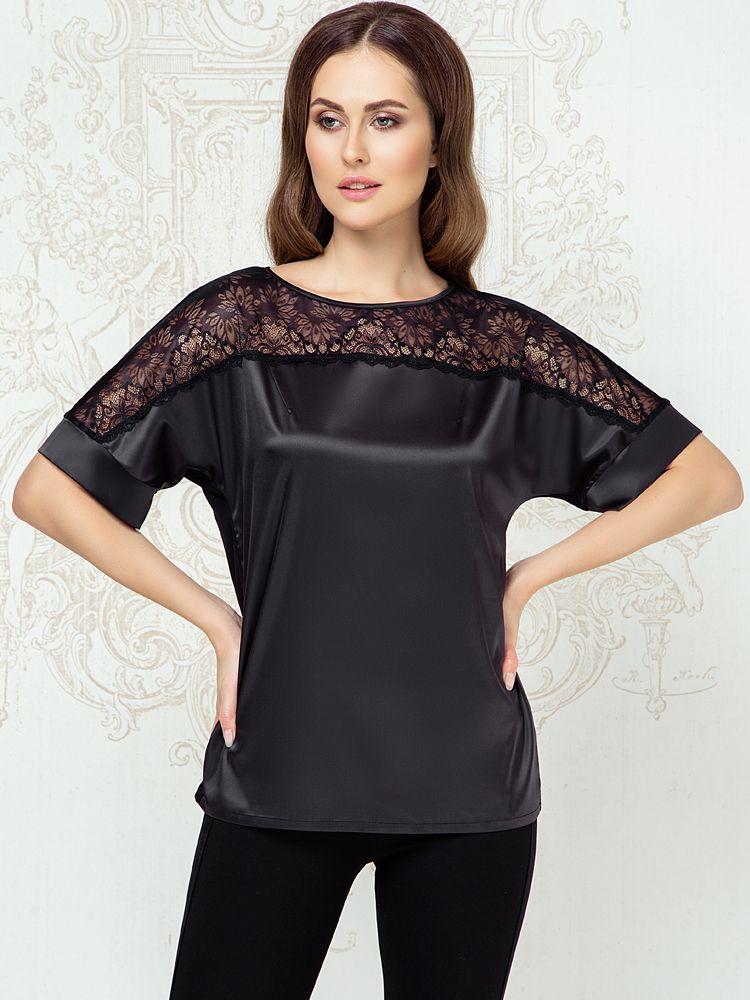 Anabel Arto Arto: Shirt, schwarz