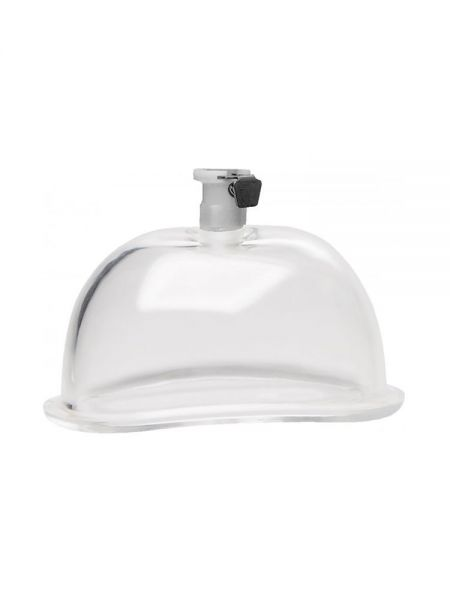 Size Matters 3,8'' Pumping Cup: Vagina-Saugglocke ca. 10 cm, transparent
