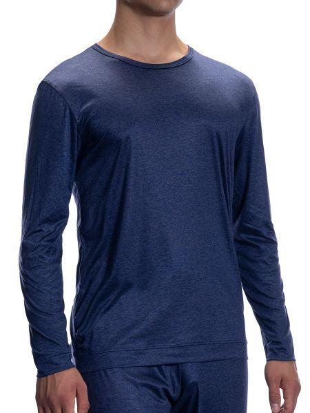 Olaf Benz PEARL2057: Loungeshirt, sapphire
