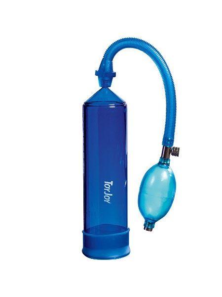 Pressure Pleasure: Penispumpe, blau