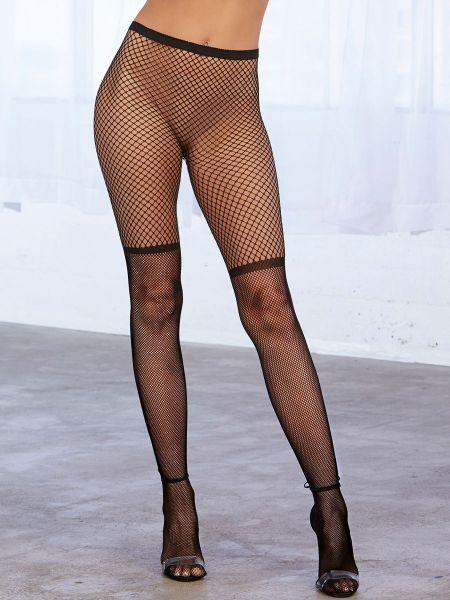 Dreamgirl Netzstrumpfhose, schwarz