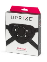 Uprize: Universal Strap-on Harness, schwarz