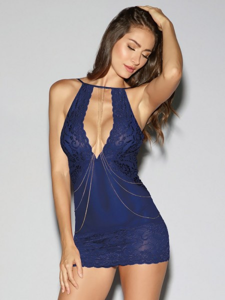 Dreamgirl Chemise, midnight