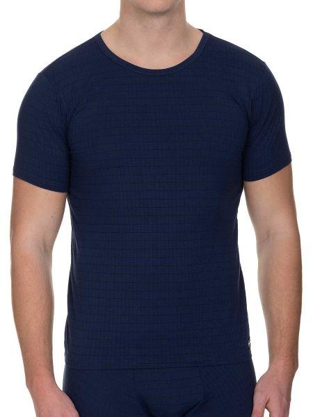 Bruno Banani Check Line 2.0: T-Shirt, marine