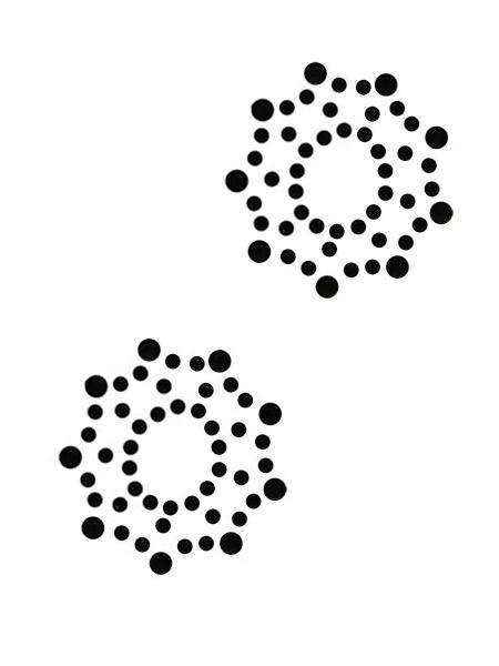 Nippelkleber Stern