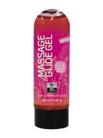 Gleit- und Massagegel: Shiatsu Strawberry Garden of Love (200ml)