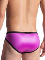 MANSTORE M816: Retro Brief, magenta/schwarz