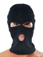 Fetish Fantasy Home Invasion: Maske, schwarz