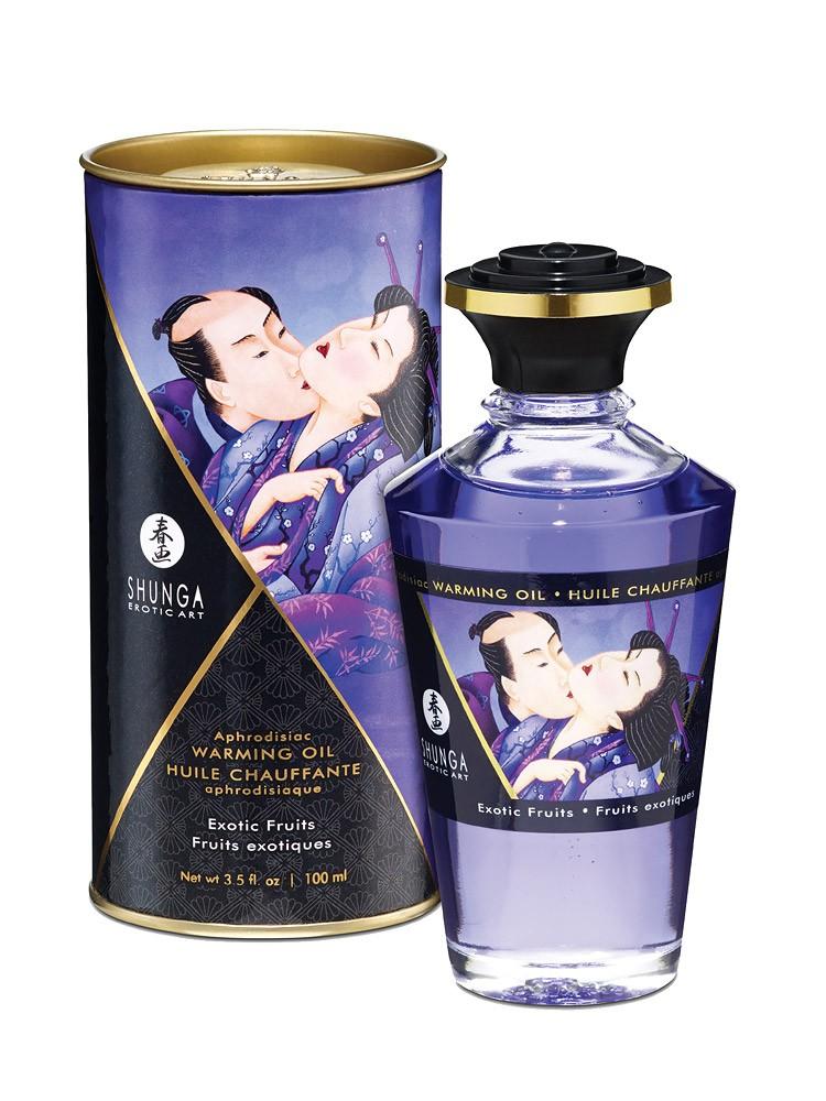 Shunga Intimate Kisses �l Exotic: Körperöl (100ml)