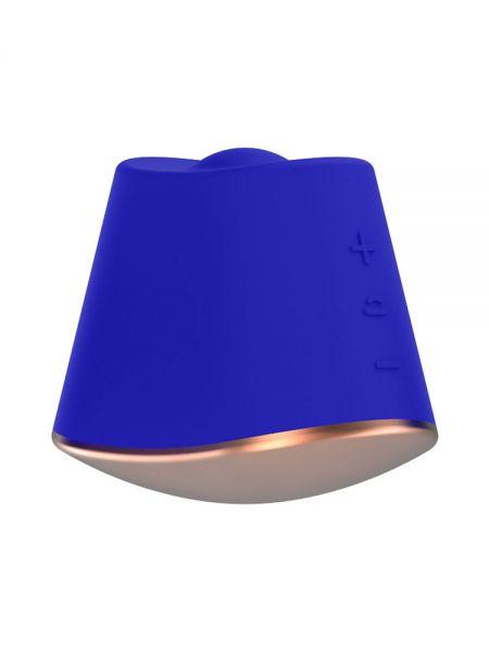 Elegance Dazzling: Klitoris-Vibrator, blau