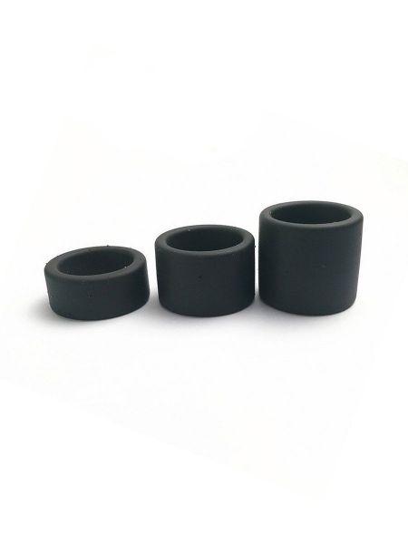 BRUTUS Squeezer Liquid: Silikon-Hodenstretcher, schwarz