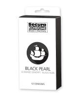 Secura Black Pearl: Kondome, 12er Pack
