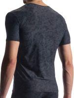 Olaf Benz RED1911: V-Neck-Shirt, schwarz