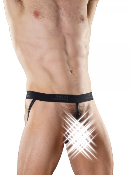 Male Power Extreme: Ring Jock, schwarz