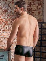 NEK: Mattlook-Zip-Pants, schwarz