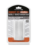 Perfect Fit Male Masturbator: Masturbator, transparent