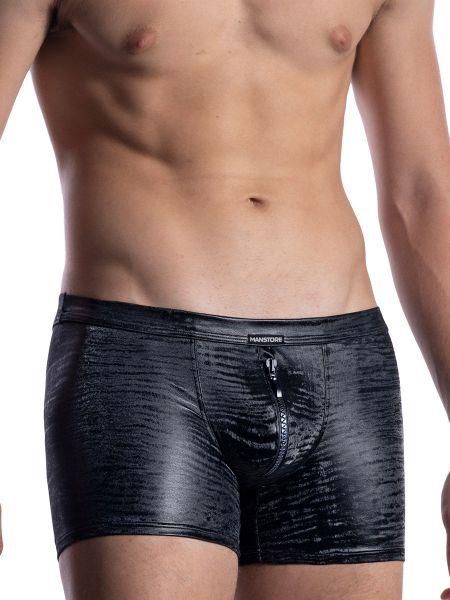 MANSTORE M2052: Zipped Boxer, schwarz