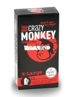 The Crazy Monkey Condoms X-Large 12er Pack