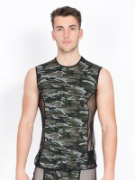 Look Me Military: Tanktop, camouflage