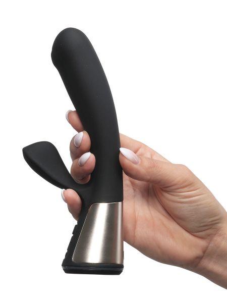 Kiiroo OhMiBod Fuse: Bunny-Vibrator, schwarz