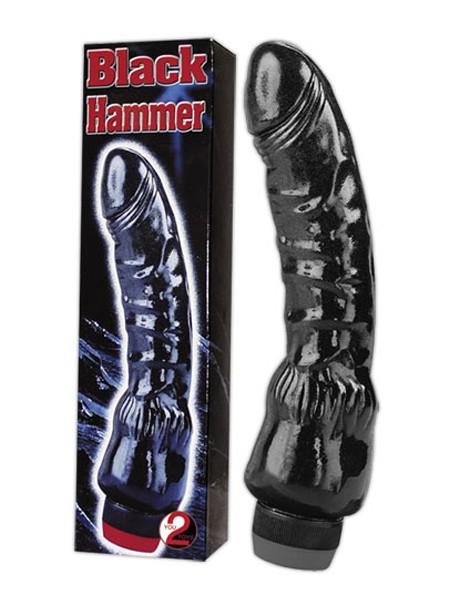 Black Hammer: Vibrator, schwarz