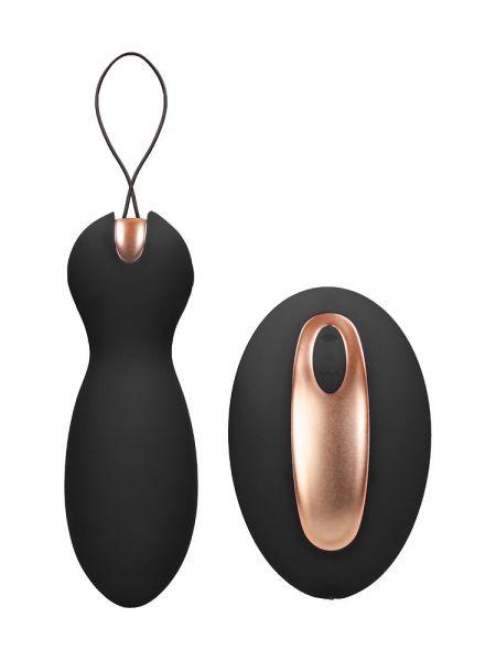 Elegance Purity: Vibro-Ei mit Vibro-Fernbedienung, schwarz