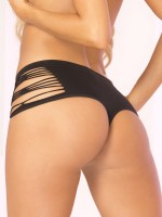 Pink Lipstick Panty: High and Wasted, schwarz