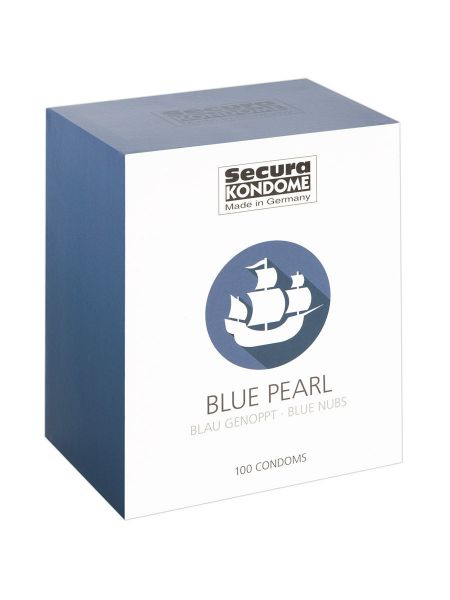 Secura Blue Pearl: Kondome, 100er Pack