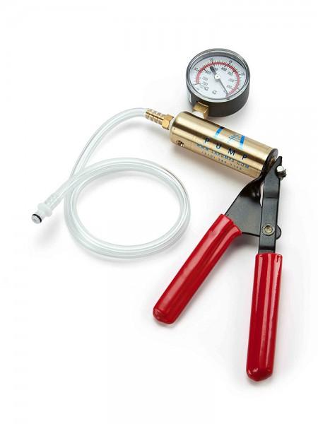 L.A. Pump Deluxe Hand Pump: Scherengriff-Penispumpe mit Druckregulierer