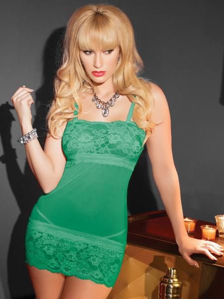 Coquette: Dessouskleid, grün