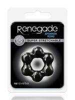 Renegade Spinner Ring: Penisring, schwarz