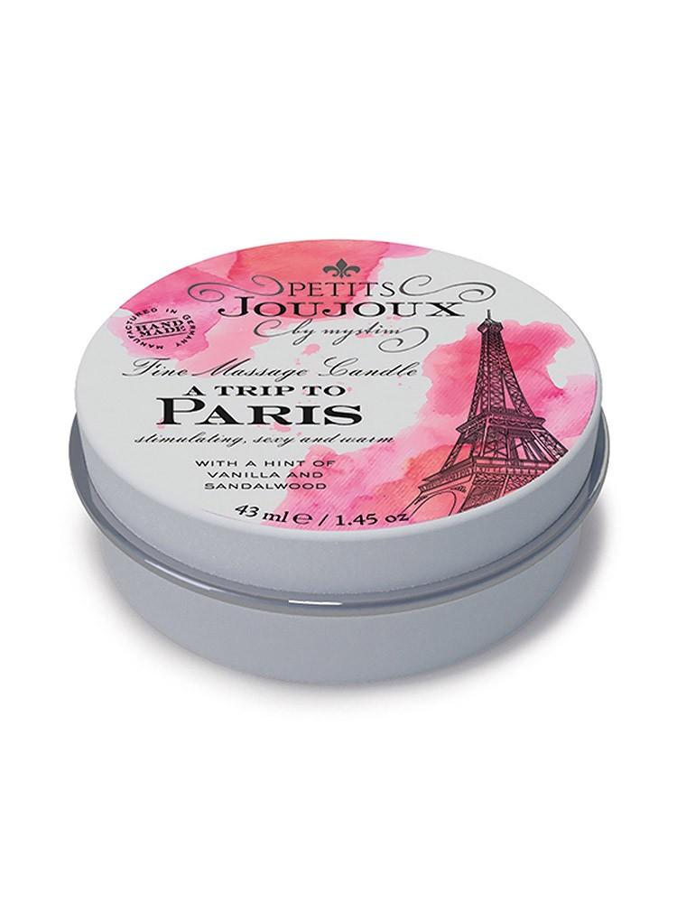 Petits Joujoux Paris: Massagekerze Vanille und Sandelholz (33g)