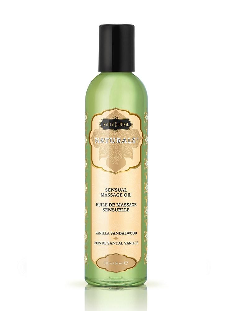 Kama Sutra Naturals Massage Oil Vanilla Sandalwood: Massageöl (236 ml)