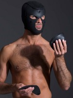 Neoprene Neo Bondage Hood 2.0: Neopren-Kopfmaske, schwarz