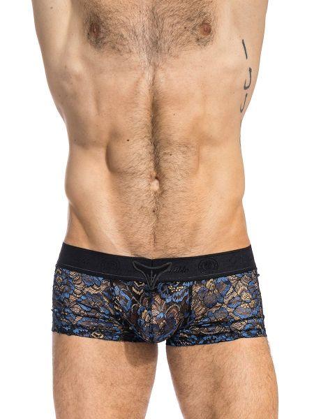 L'Homme Elysée: Push-Up V-Boxer, blau/schwarz