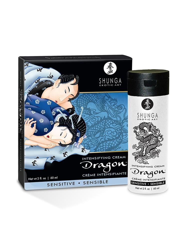 Shunga Dragon Intenisfying Cream Sensitive (60ml)