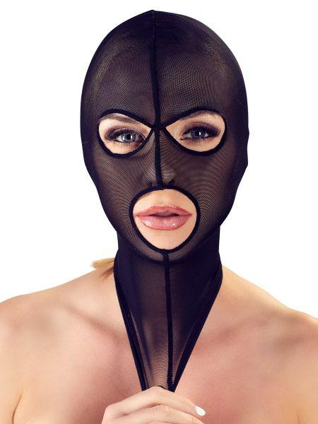 Bad Kitty: Kopfmaske Powernet, schwarz